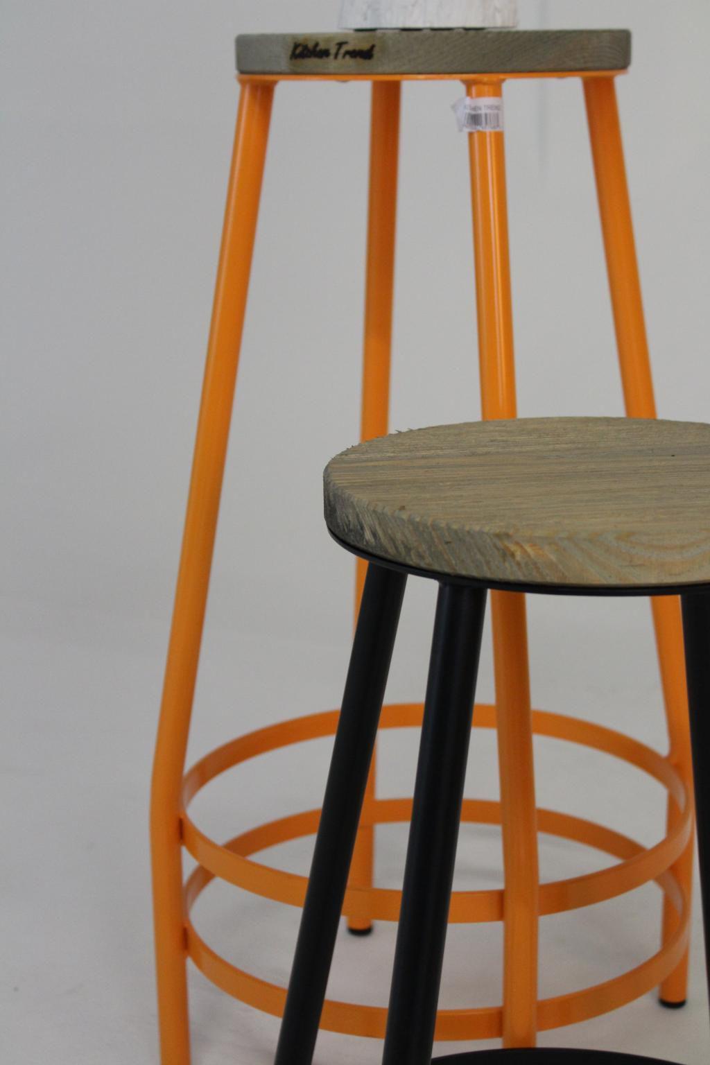 Barhocker orange kitchen trend kaufen for Barhocker orange