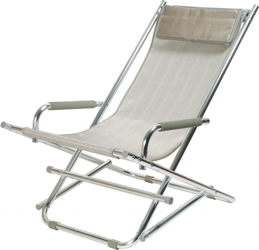 inklapbare tuinstoel tuinstoel aluminium strandstoel zilver le studio