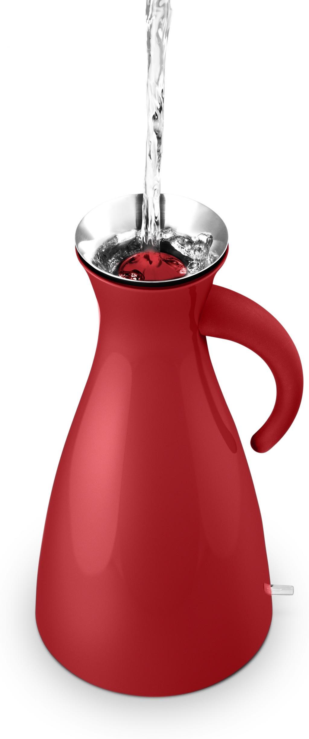 wasserkocher electric kettle 1 5 lt rot eva solo kaufen wohn und. Black Bedroom Furniture Sets. Home Design Ideas