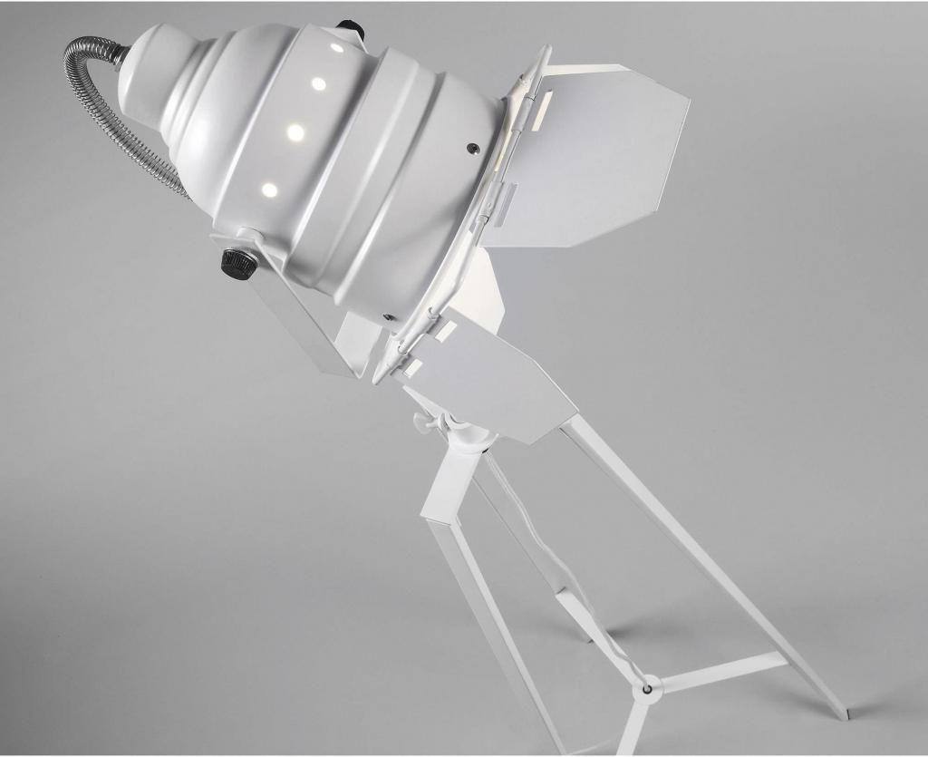 stehlampe togh tripod searchlight wei la forma kaufen wohn und. Black Bedroom Furniture Sets. Home Design Ideas