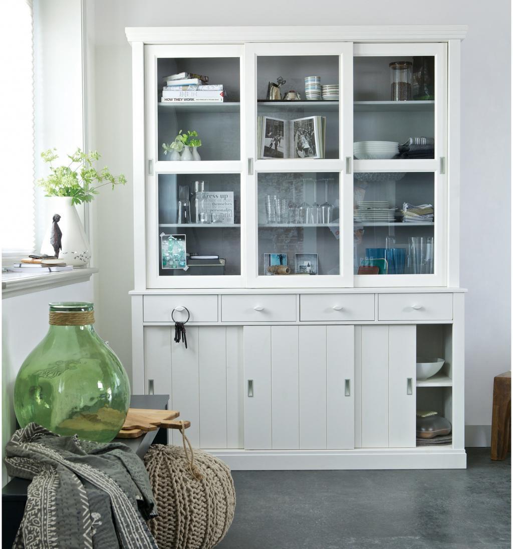 schrank lagos wei kiefer woood kaufen wohn und lifestylewebshop. Black Bedroom Furniture Sets. Home Design Ideas