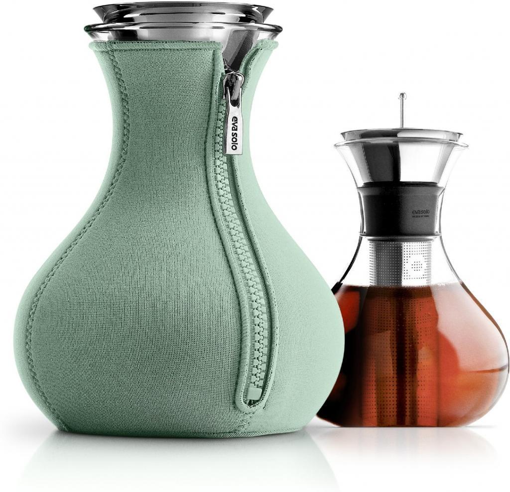 teekanne tea maker 1 0 l mit neopren bezug granitgr n eva solo kaufen. Black Bedroom Furniture Sets. Home Design Ideas