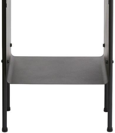 beistelltisch room schwarz 32x30x70 cm house doctor sale kaufen. Black Bedroom Furniture Sets. Home Design Ideas