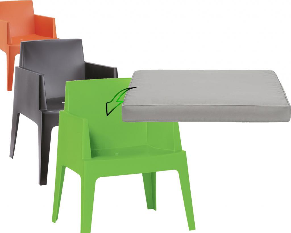 kissen box gartenstuhl hellgrau cabin living kaufen wohn und. Black Bedroom Furniture Sets. Home Design Ideas