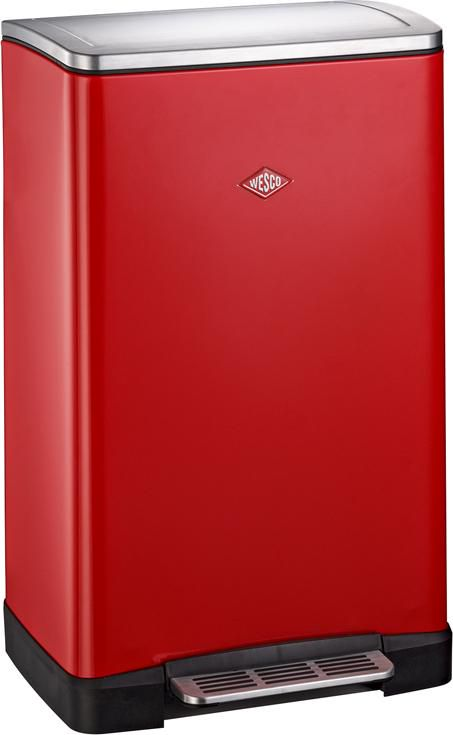 prullenbak big double boy rood 2 x 18 liter wesco. Black Bedroom Furniture Sets. Home Design Ideas