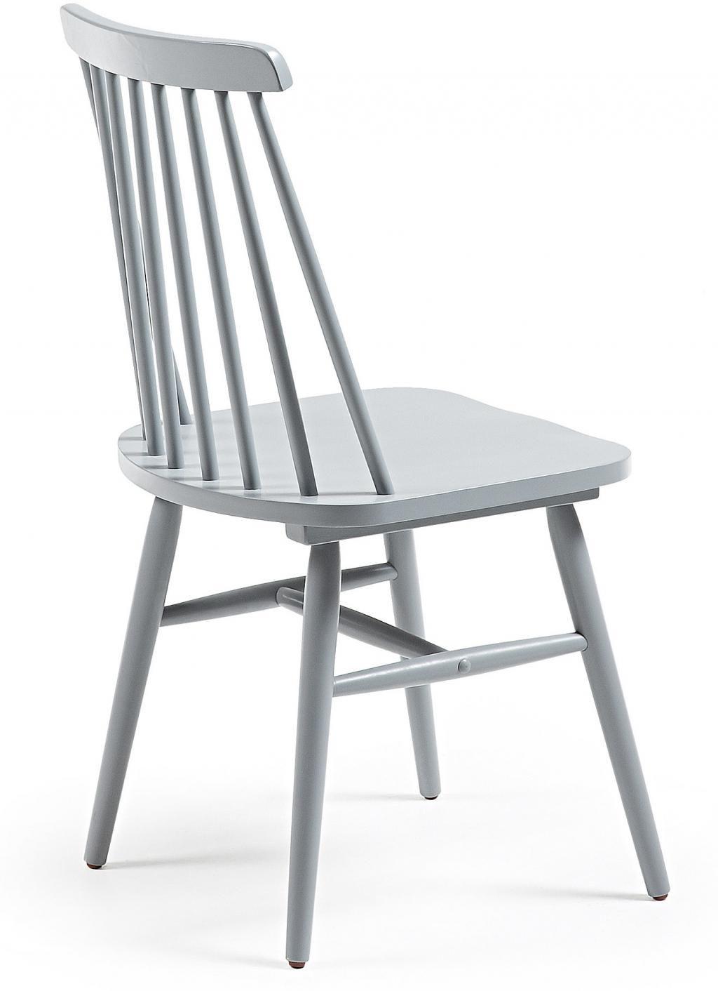 stuhl kristie holz grau la forma kaufen wohn und lifestylewebshop. Black Bedroom Furniture Sets. Home Design Ideas