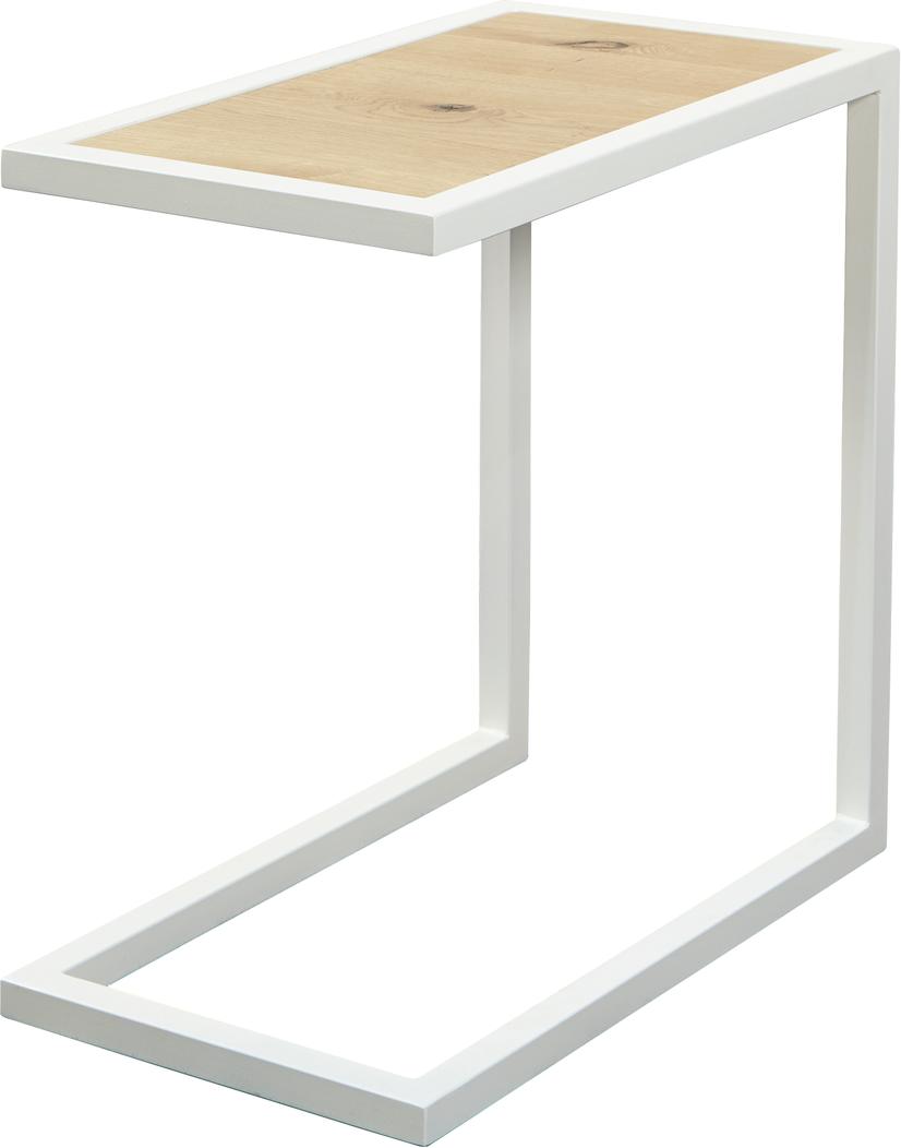 beistelltisch divani 1 wei eiche 30x54x50 spinder design kaufen. Black Bedroom Furniture Sets. Home Design Ideas