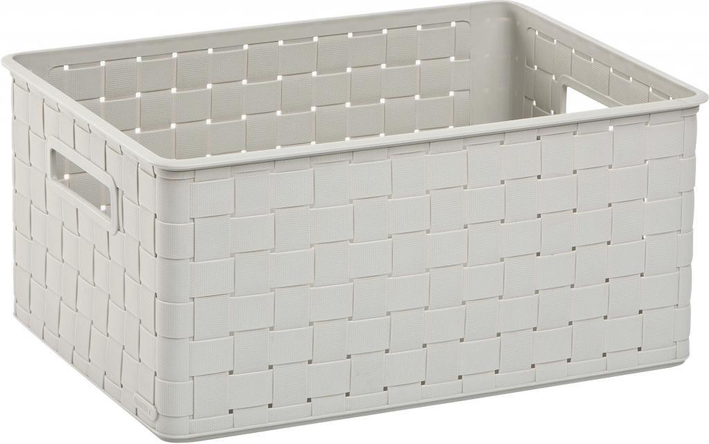 aufbewahrungsbox nuance m 18l wei allibert kaufen wohn und. Black Bedroom Furniture Sets. Home Design Ideas