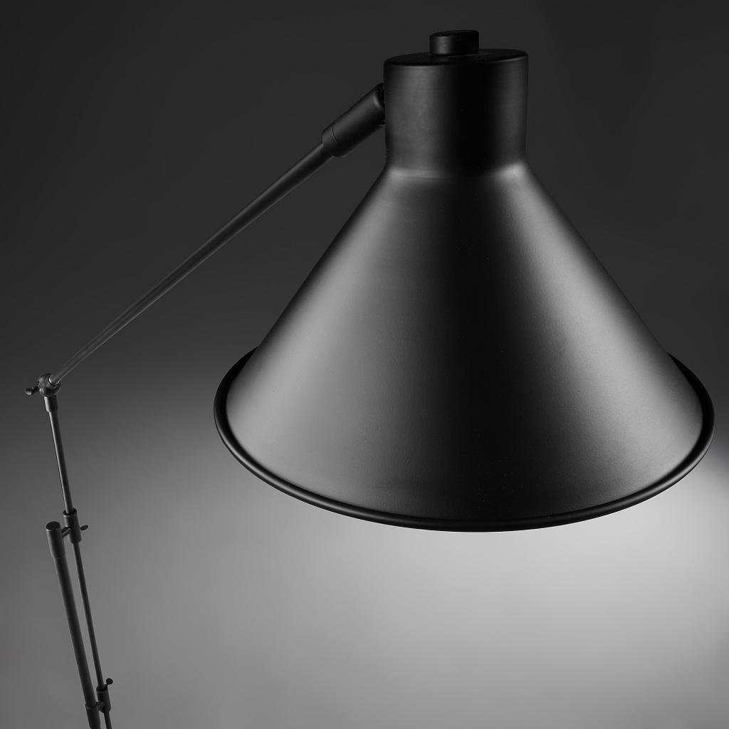 stehlampe odine metall schwarz la forma kaufen wohn und lifestylewebshop. Black Bedroom Furniture Sets. Home Design Ideas