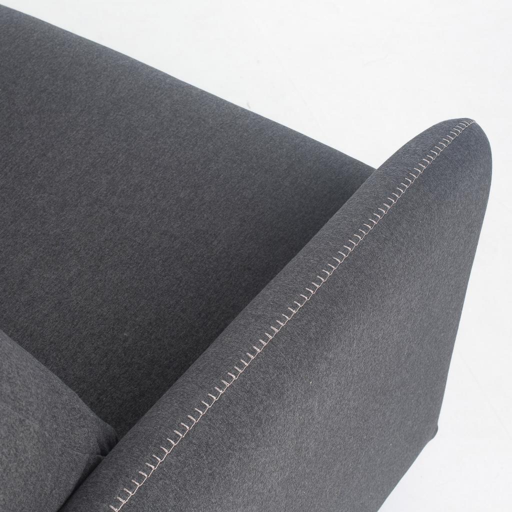 schlafcouch komoon 160 polyurethan matratze anthrazit la forma kaufen. Black Bedroom Furniture Sets. Home Design Ideas