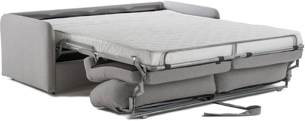 schlafcouch komoon 160 polyurethan matratze hellgrau la forma kaufen. Black Bedroom Furniture Sets. Home Design Ideas