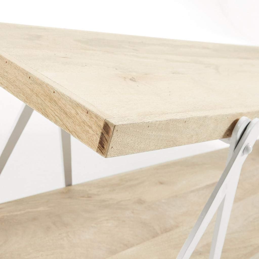 fernsehschrank morgan wei metall holz la forma. Black Bedroom Furniture Sets. Home Design Ideas