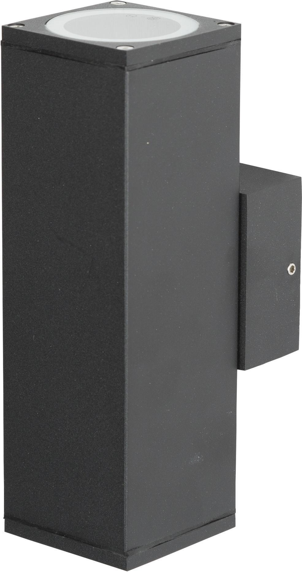 au en wandlampe kelvin up down aluminium schwarz ks verlichting kaufen lilianshouse. Black Bedroom Furniture Sets. Home Design Ideas