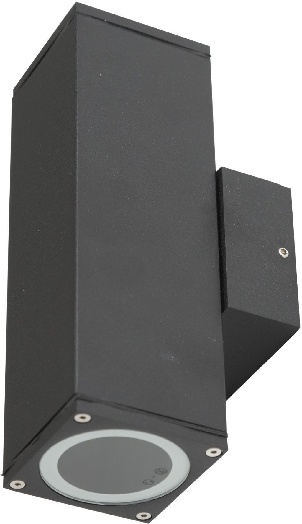 Au en wandlampe kelvin up down aluminium schwarz ks verlichting kaufen lilianshouse - Aussen wandlampe ...