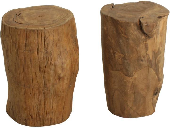 hocker trunk naturell alter baumstamm one world. Black Bedroom Furniture Sets. Home Design Ideas