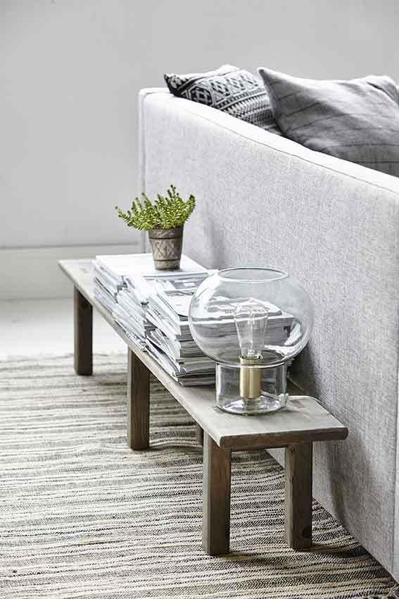 tischlampe mush 23x26 cm glas kupfer e27 house doctor kaufen wohn. Black Bedroom Furniture Sets. Home Design Ideas