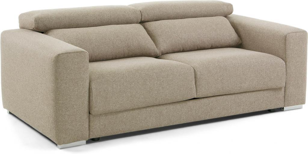 couch singapore 3 sitzer stoff beige la forma kaufen wohn und. Black Bedroom Furniture Sets. Home Design Ideas