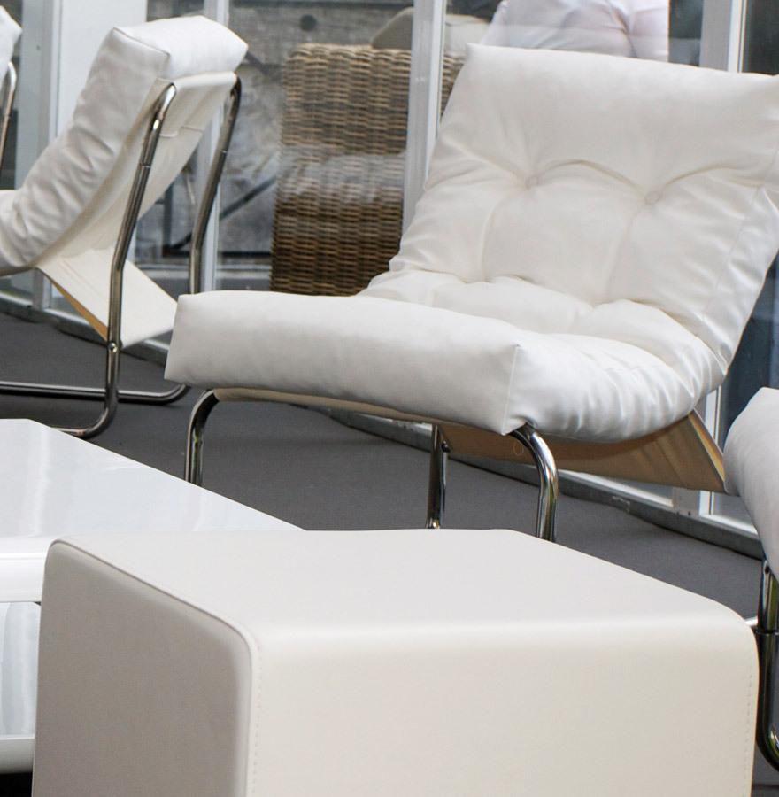 sessel boudoir wei kunstleder kokoon design kaufen wohn und. Black Bedroom Furniture Sets. Home Design Ideas