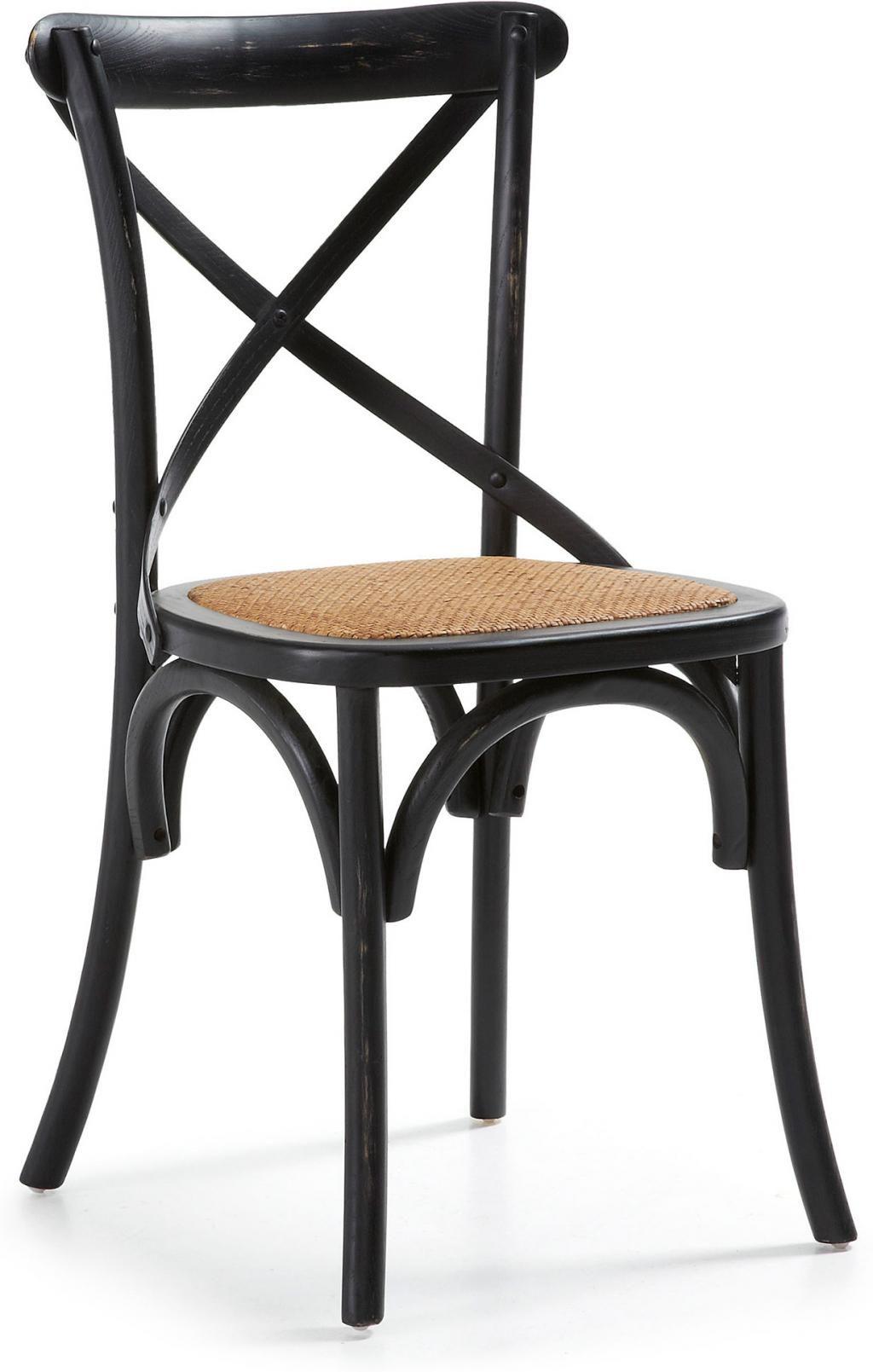 Stuhl alsie schwarz holz la forma kaufen wohn und lifestylewebshop - Stuhl holz schwarz ...