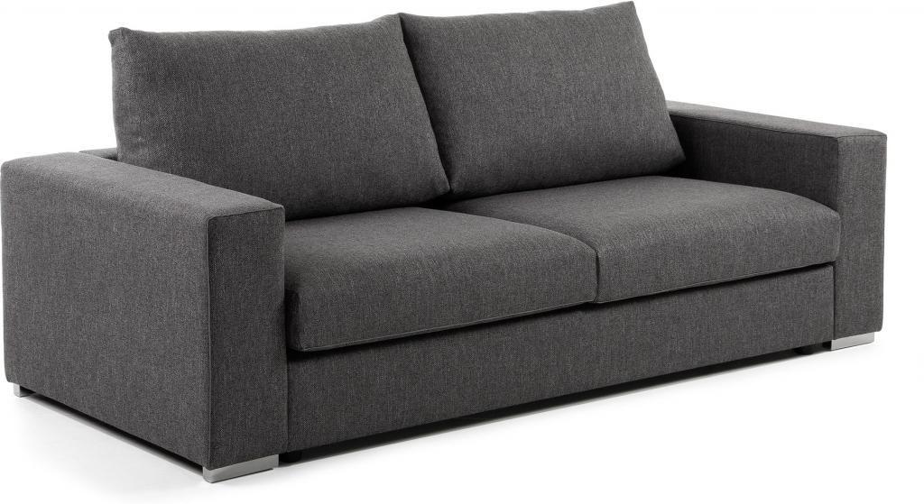 schlafcouch big graphit visco matratze 160 cm la forma kaufen wohn. Black Bedroom Furniture Sets. Home Design Ideas
