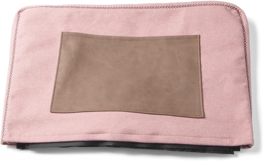 bezug f r verso hocker rosa stoff la forma kaufen wohn und. Black Bedroom Furniture Sets. Home Design Ideas