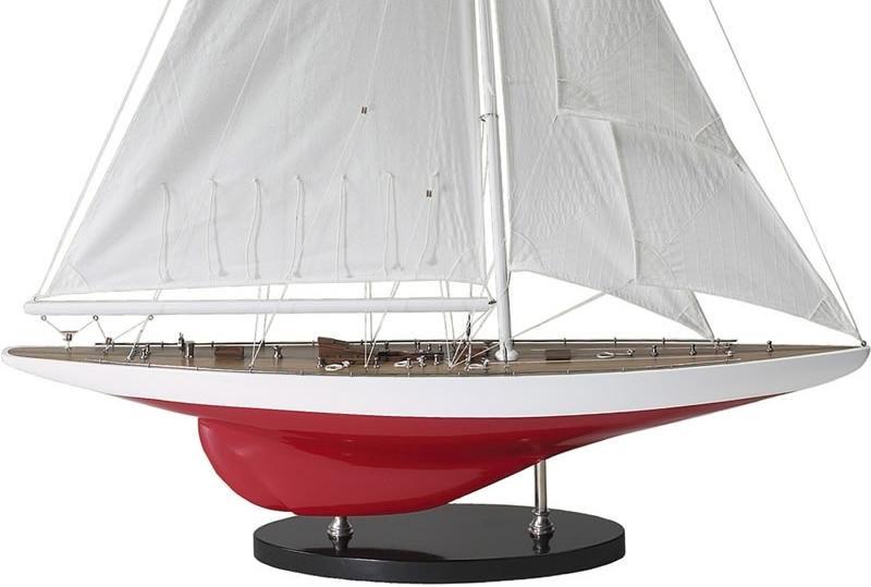 Miniatuur zeilboot as150 j yacht ranger 1937 authentic for Decoratie zeilboot