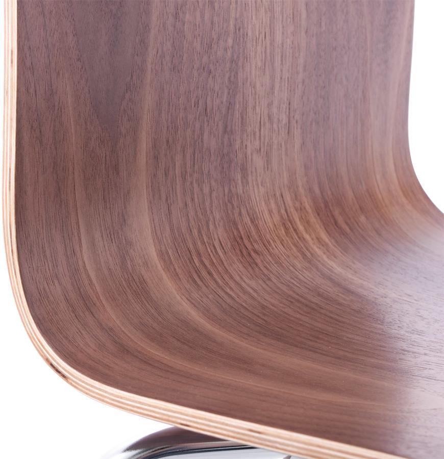stuhl classic dunkelbraun holz kokoon design kaufen wohn und. Black Bedroom Furniture Sets. Home Design Ideas