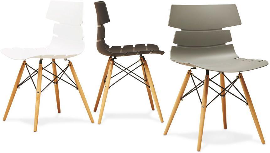 stuhl strata wei kunststoff 48x50x82 kokoon design kaufen wohn. Black Bedroom Furniture Sets. Home Design Ideas