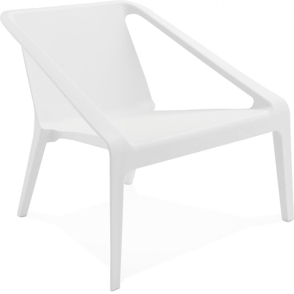 Stoel soleado wit kunststof kokoon design for Design stoel wit