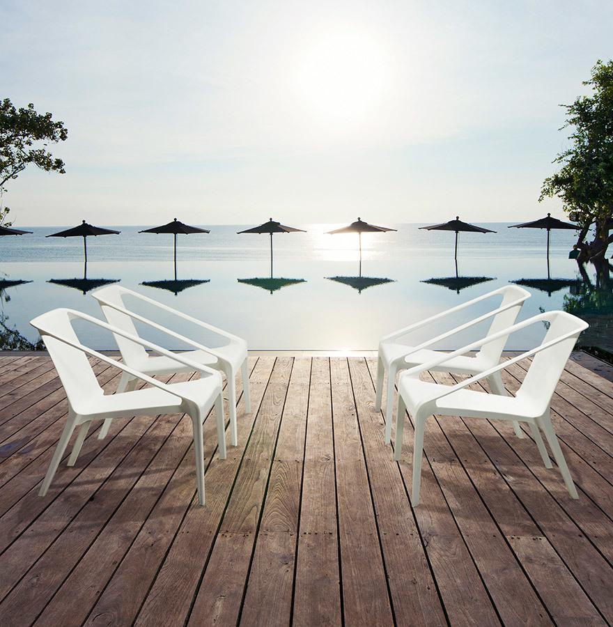 stuhl soleado wei kunststoff polym kokoon design kaufen wohn und. Black Bedroom Furniture Sets. Home Design Ideas