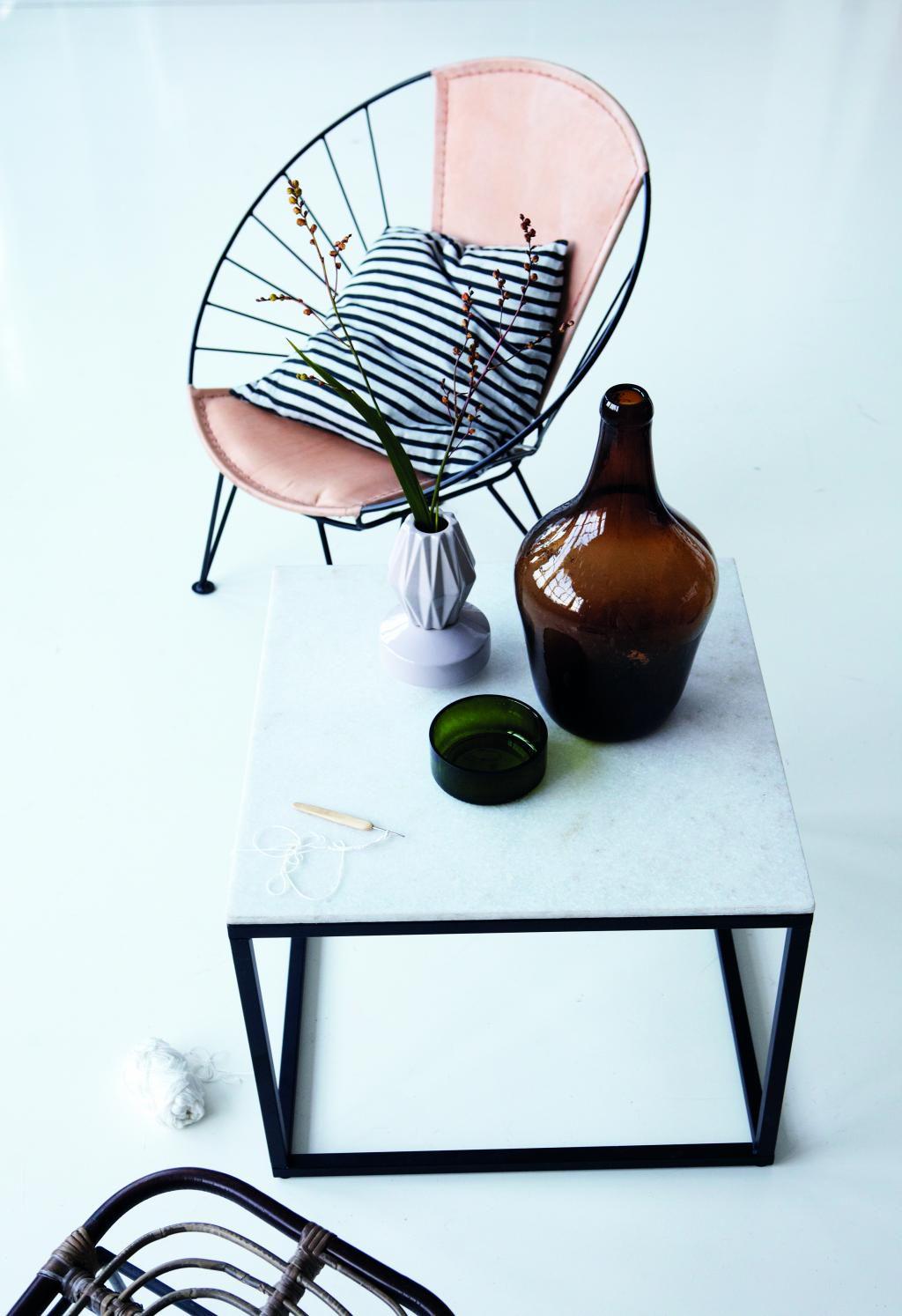 kissenbezug stripe schwarz grau 50x50 leinen house doctor kaufen. Black Bedroom Furniture Sets. Home Design Ideas