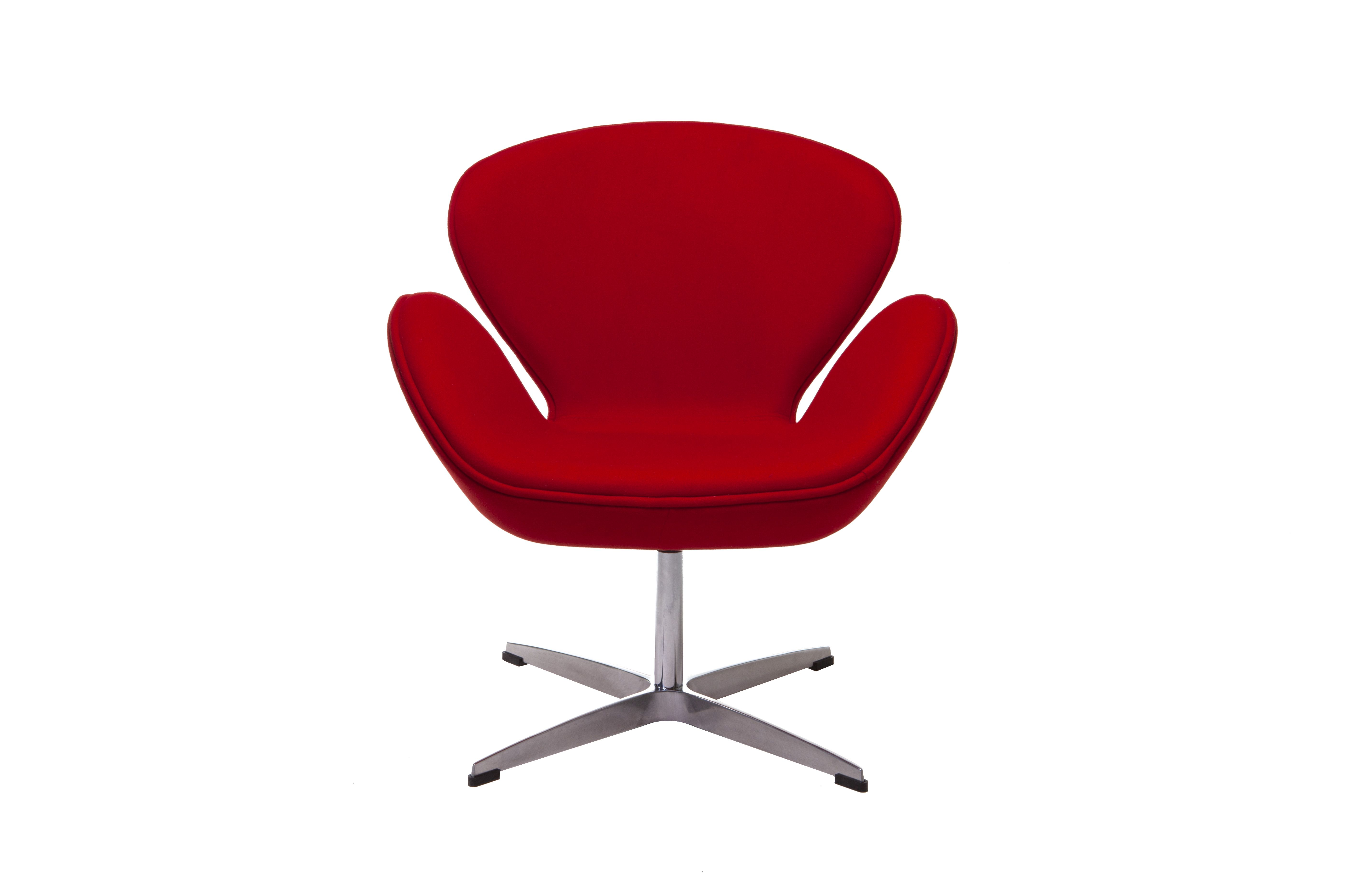 Fauteuil Herlev Rood