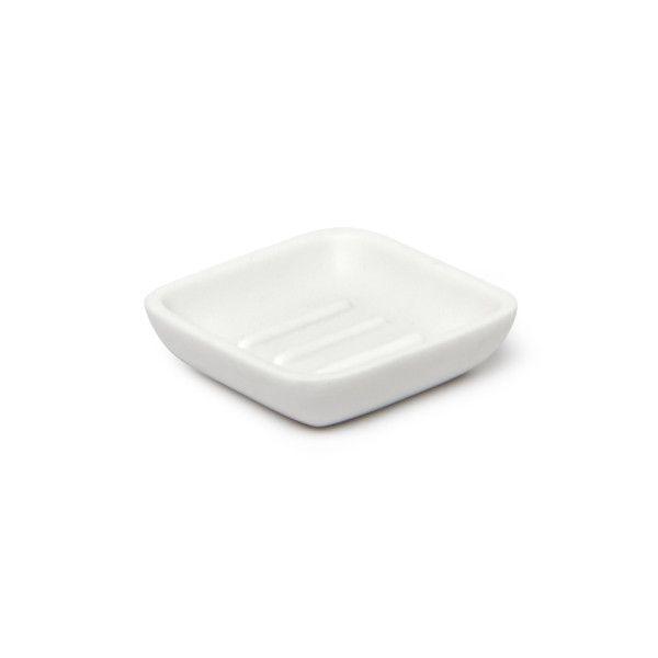 JUNIP SOAP DISH WHITE