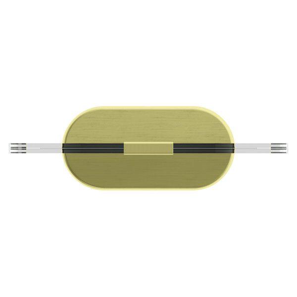 GLO PD 13X18CM MAT BRASS