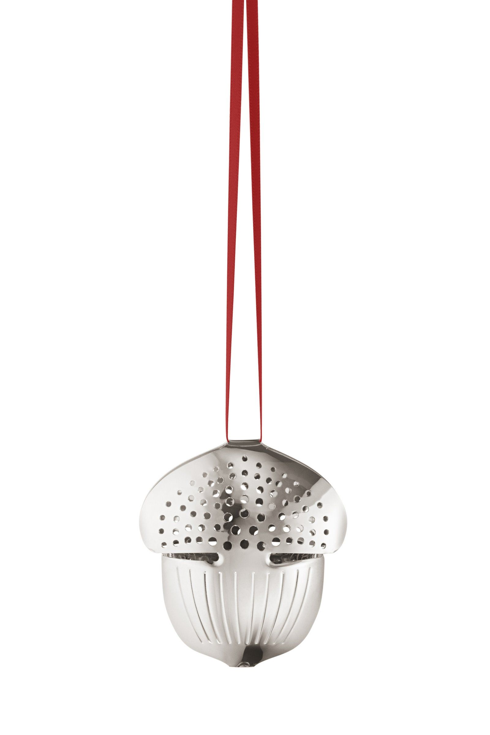 Georg Jensen ornament Holiday Acorn palladium Christmas 2018