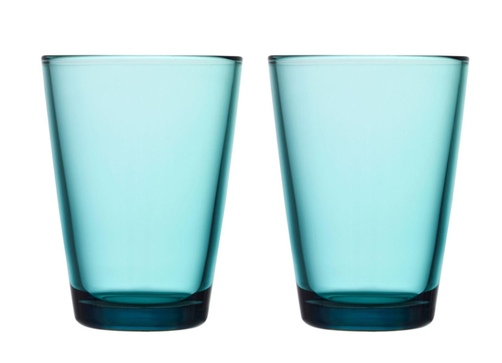 Iittala Kartio glas 40cl zeeblauw - 2 stuks