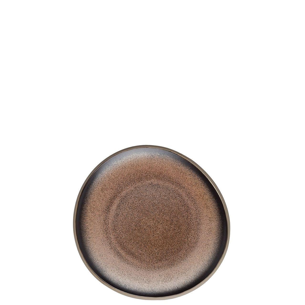 Rosenthal Junto gebaksbordje ø 16cm - bronze