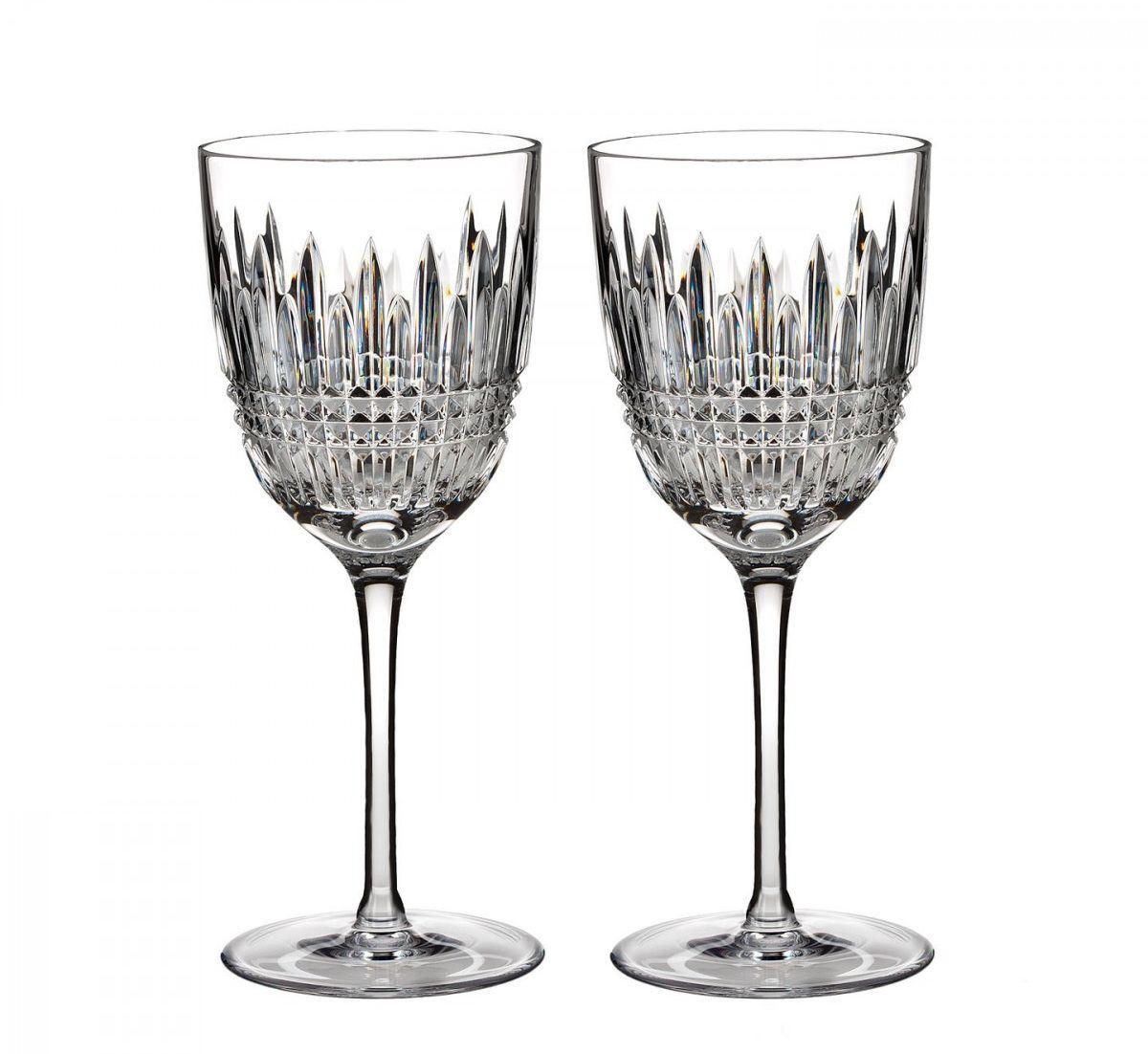 Waterford Lismore Diamond Witte wijnglas - set van 2