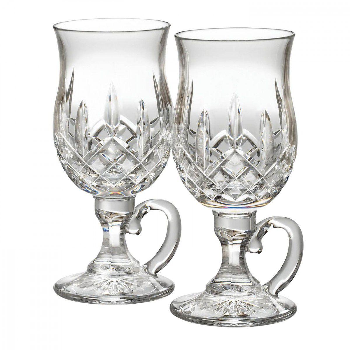 Waterford Lismore Irish Coffee glas - set van 2
