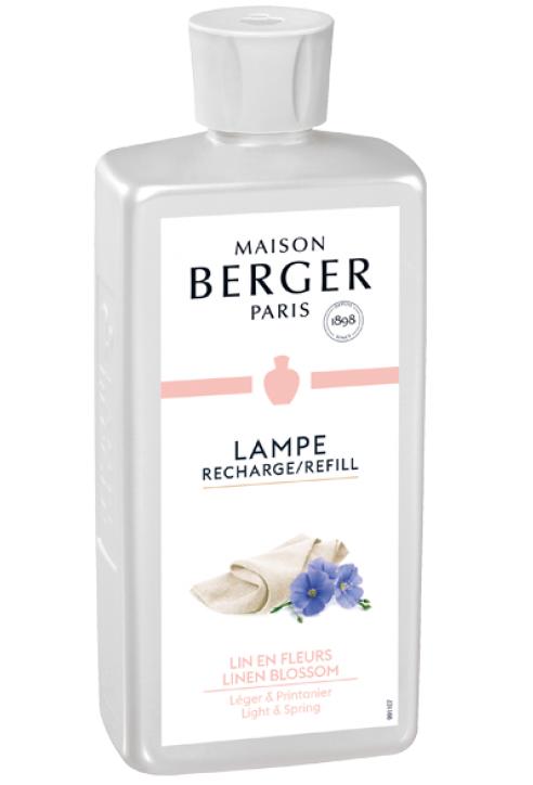 Lampe Berger navulling Linen Blossom 500 ml