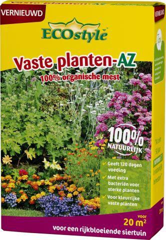 1.6kg ecostyle tuinplanten voeding duurzaam milieu vriendelijk