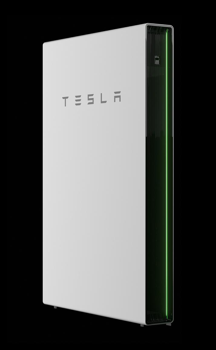 thuisbatterij station tesla