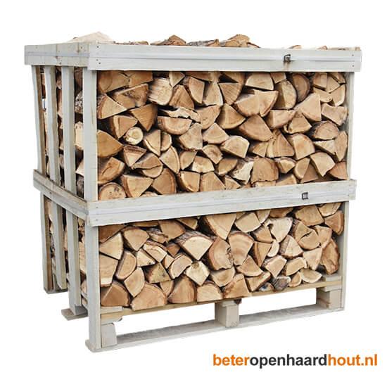 Halve pallet haardhout | Beteropenhaardhout.nl