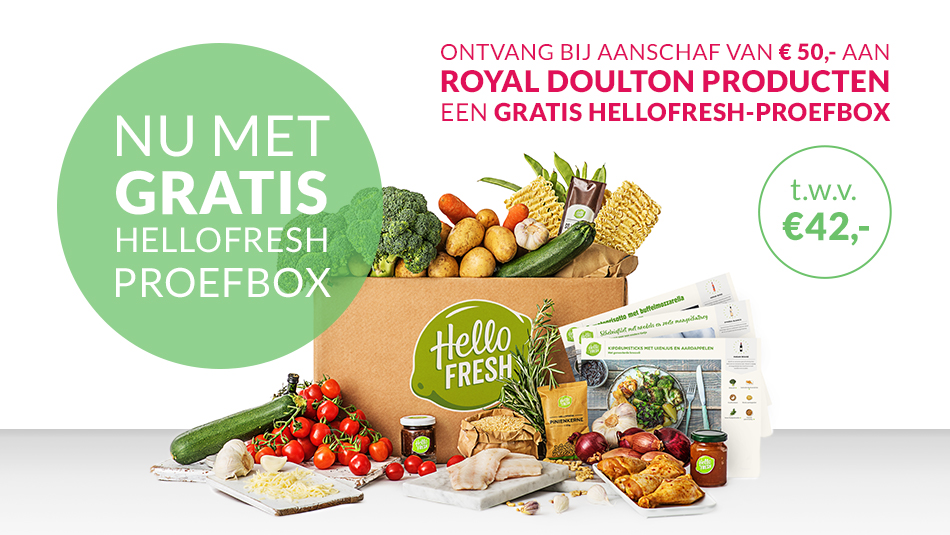 HelloFresh proefbox gratis