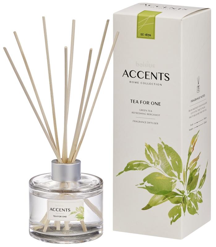 Bolsius Geurstokjes Accents Tea for One 100 ml