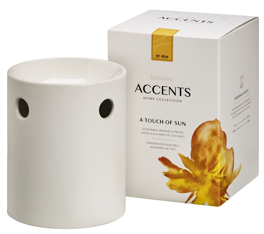 Bolsius Waxmelts Giftset Accents A Touch of Sun