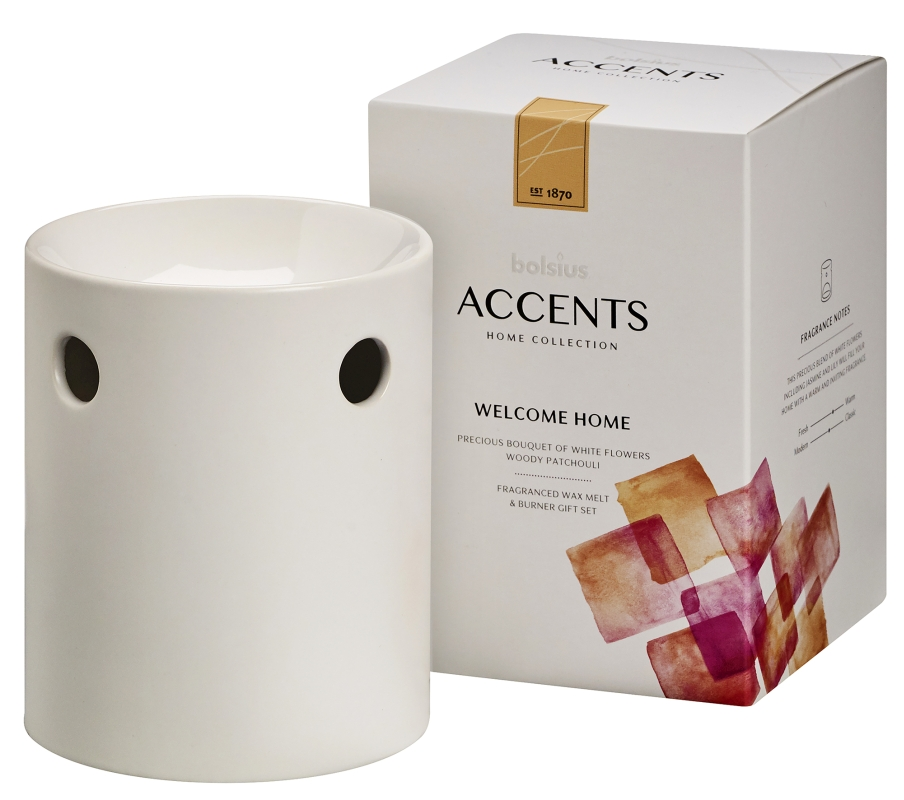 Bolsius Waxmelts Giftset Accents Welcome Home