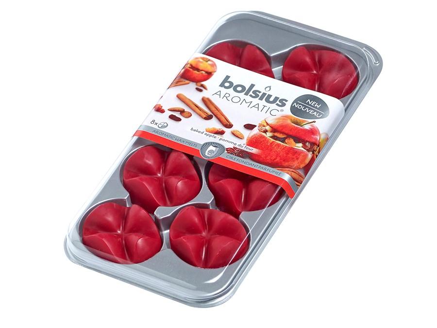 Bolsius waxchips Aromatic Baked Apple - 8 stuks