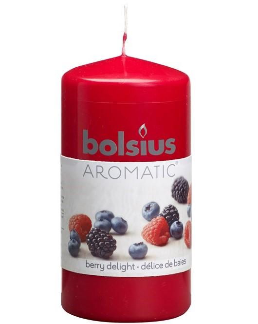 Bolsius stompkaars Aromatic Berry Delight 120/60 mm