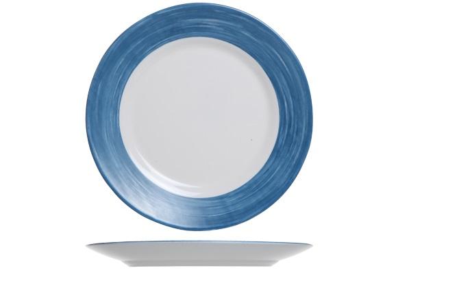 Arcoroc_Dessertbord_Blauw